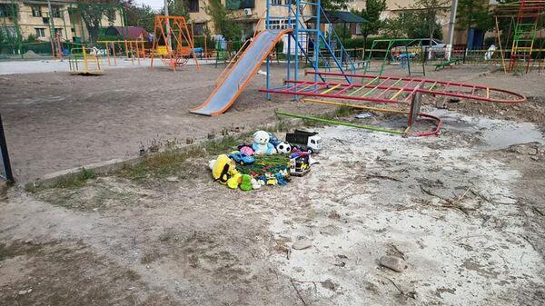 Трагедия на детской площадке в Ташкенте - Sputnik Узбекистан