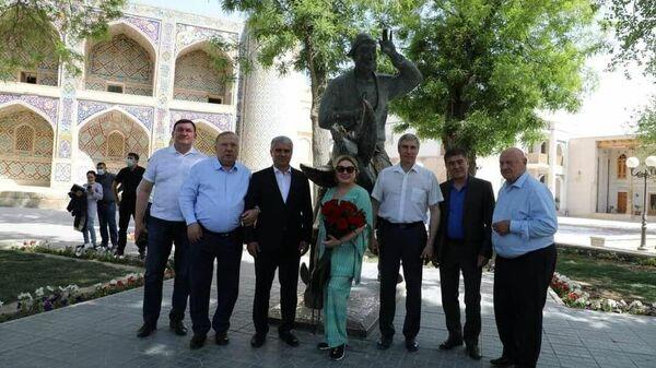 Делегация Общероссийской общественной организации Объединение Героев России посетила Бухару - Sputnik Узбекистан