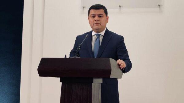 Press-sekretar prezidenta Uzbekistana Sherzod Asadov - Sputnik Oʻzbekiston
