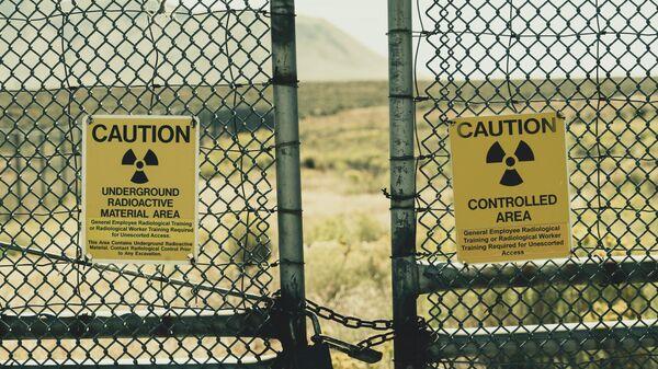 Радиоактивная зона, иллюстративное фото - Sputnik Узбекистан