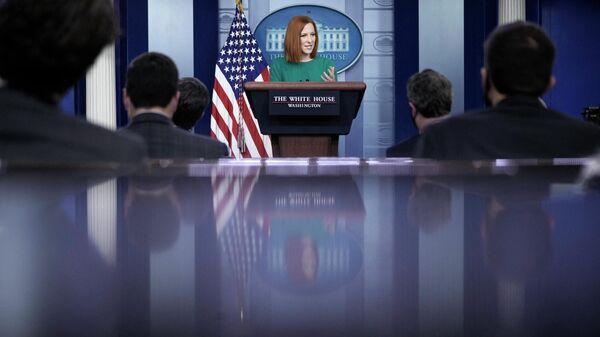 Пресс-секретарь Белого дома Джен Псаки - Sputnik Узбекистан