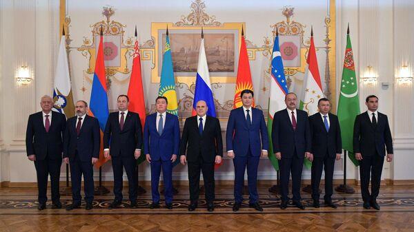 Премьер-министр РФ М. Мишустин принимает участие в заседании Евразийского межправительственного совета - Sputnik Узбекистан
