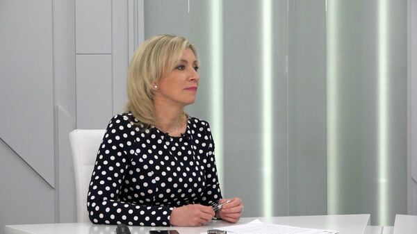Официальный представитель МИД России Мария Захарова - Sputnik Узбекистан