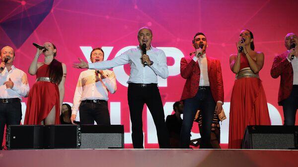 Концерт ансамблей Михаила Турецкого в Ташкенте - Sputnik Узбекистан