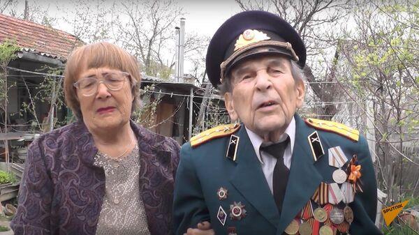 История борьбы за жизнь ветерана Великой Отечественной войны из Симферополя - Sputnik Узбекистан