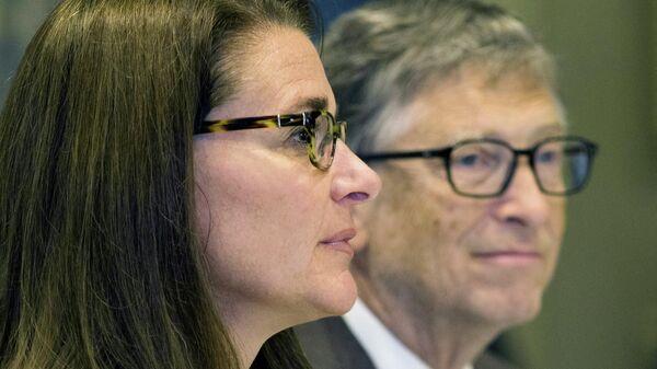 Билл и Мелинда Гейтс - Sputnik Узбекистан