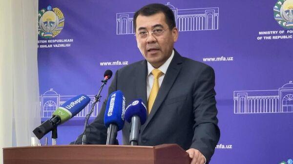 Пресс-секретарь МИД Узбекистана Юсуп Кабулжанов - Sputnik Узбекистан