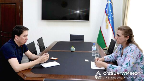 В Узбекистане хотят привлечь кредиты ВЭБа для проектов водоснабжения - Sputnik Узбекистан