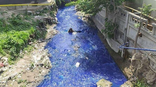 Фиолетовые реки в Самарканде - Sputnik Узбекистан