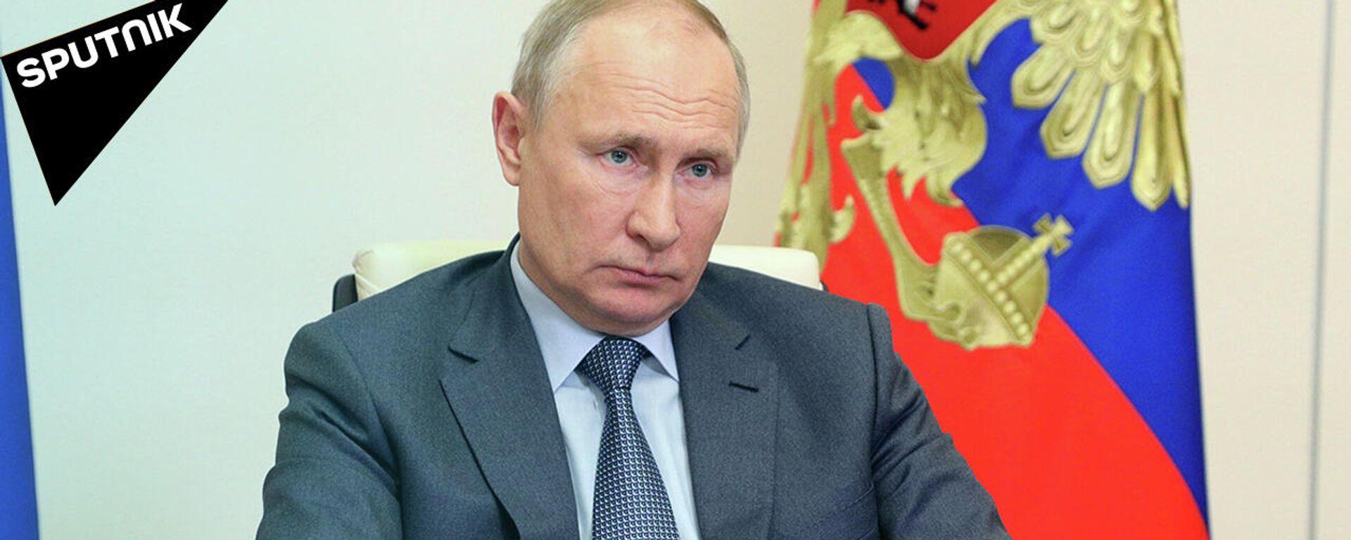 Варварское преступление — Путин о трагедии в Казани  - Sputnik Узбекистан, 1920, 13.05.2021