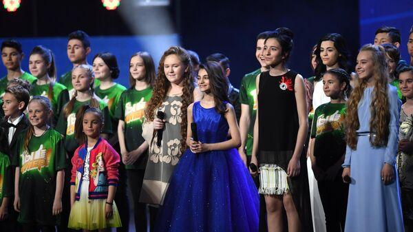 Финал конкурса Ты супер! в Государственном Кремлевском Дворце - Sputnik Узбекистан