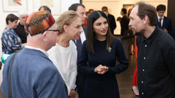 Саида Мирзиёева открыла в Третьяковке уникальную выставку авангардиста из фондов музея Савицкого - Sputnik Узбекистан