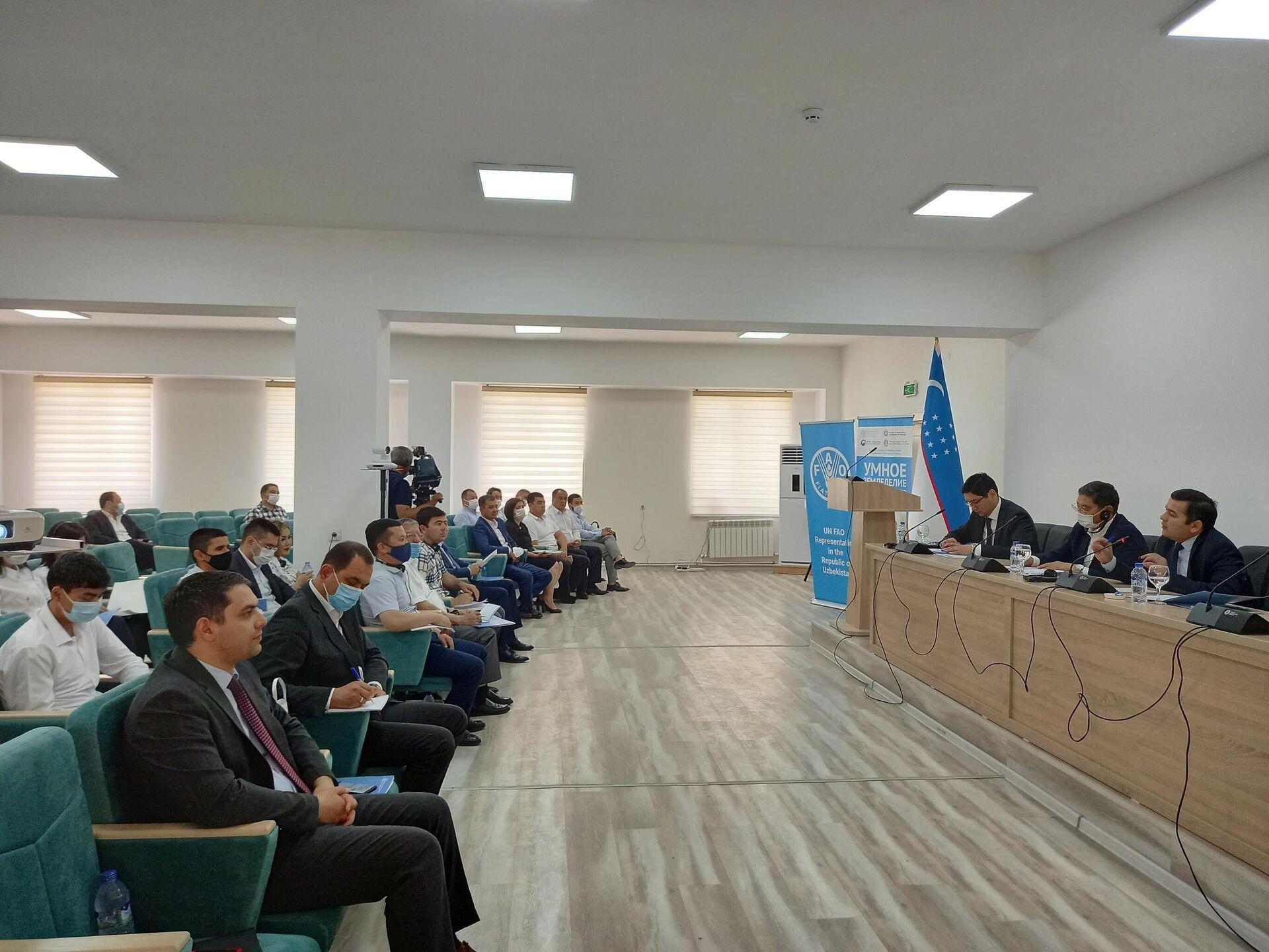 В Узбекистане запустили четырехлетний проект ФАО Умное фермерство - Sputnik Узбекистан, 1920, 19.05.2021