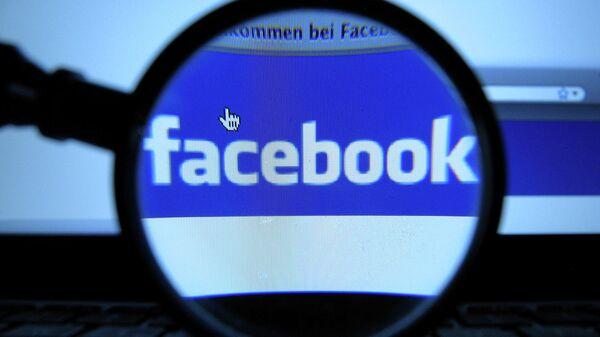 Логотип социальной сети Facebook - Sputnik Ўзбекистон