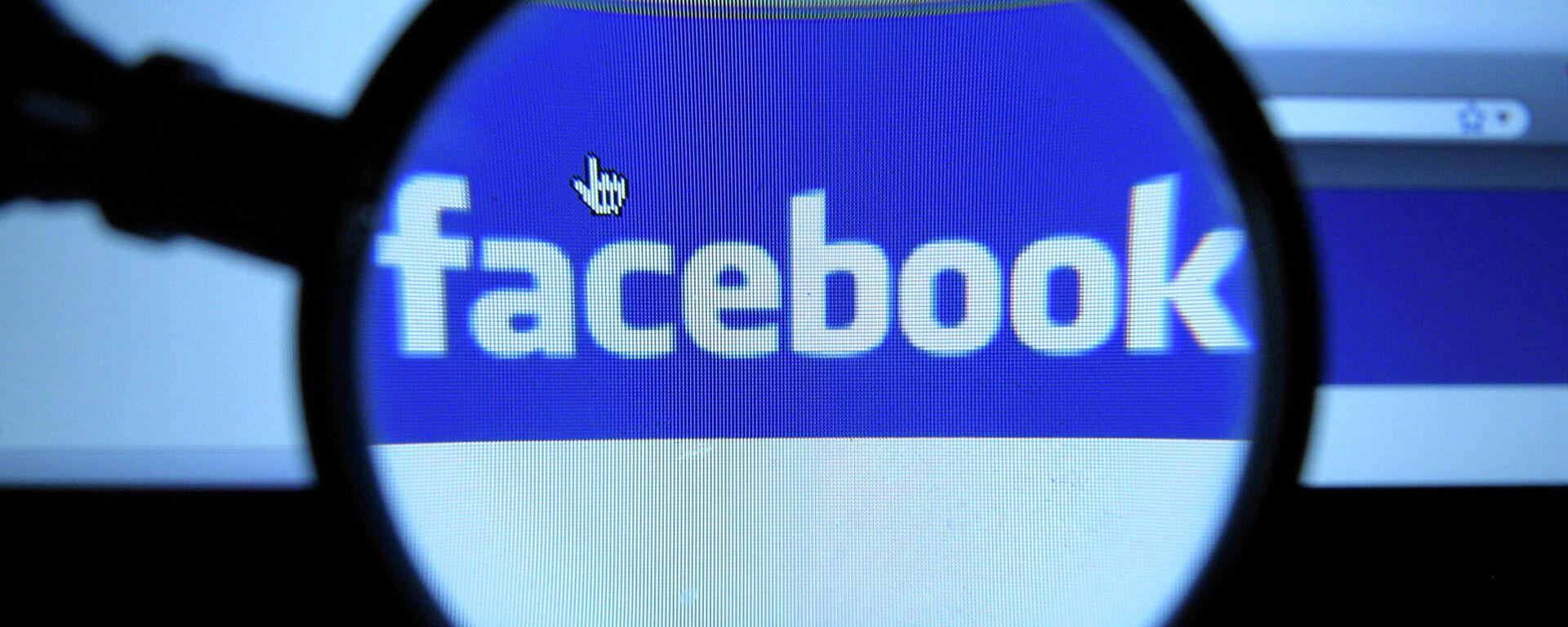 Логотип социальной сети Facebook - Sputnik Узбекистан, 1920, 05.10.2021