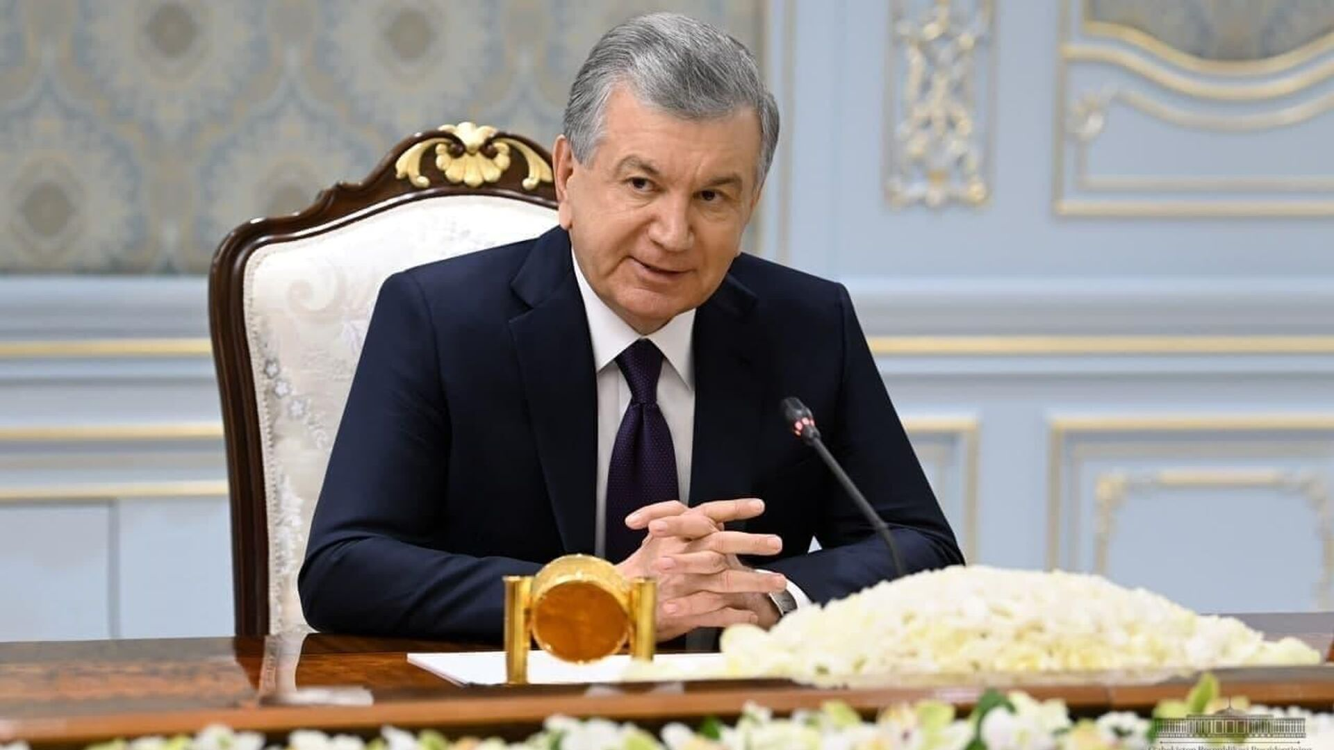 Президент Узбекистана Шавкат Мирзиёев - Sputnik Ўзбекистон, 1920, 15.09.2021