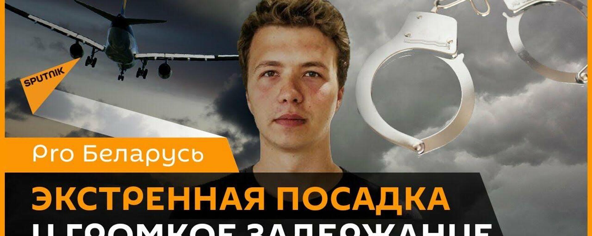 Задержание Протасевича: что произошло с самолетом Ryanair? - Sputnik Узбекистан, 1920, 25.05.2021