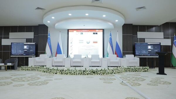 Третья межрегиональная конференция ректоров вузов Узбекистана и России в Бухаре - Sputnik Узбекистан