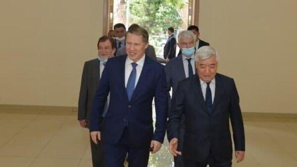 Делегация Российского Минздрава приехала в Узбекистан - Sputnik Узбекистан