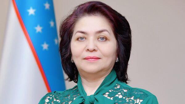 Уполномоченный по правам ребенка в Узбекистане Алия Юнусова - Sputnik Узбекистан