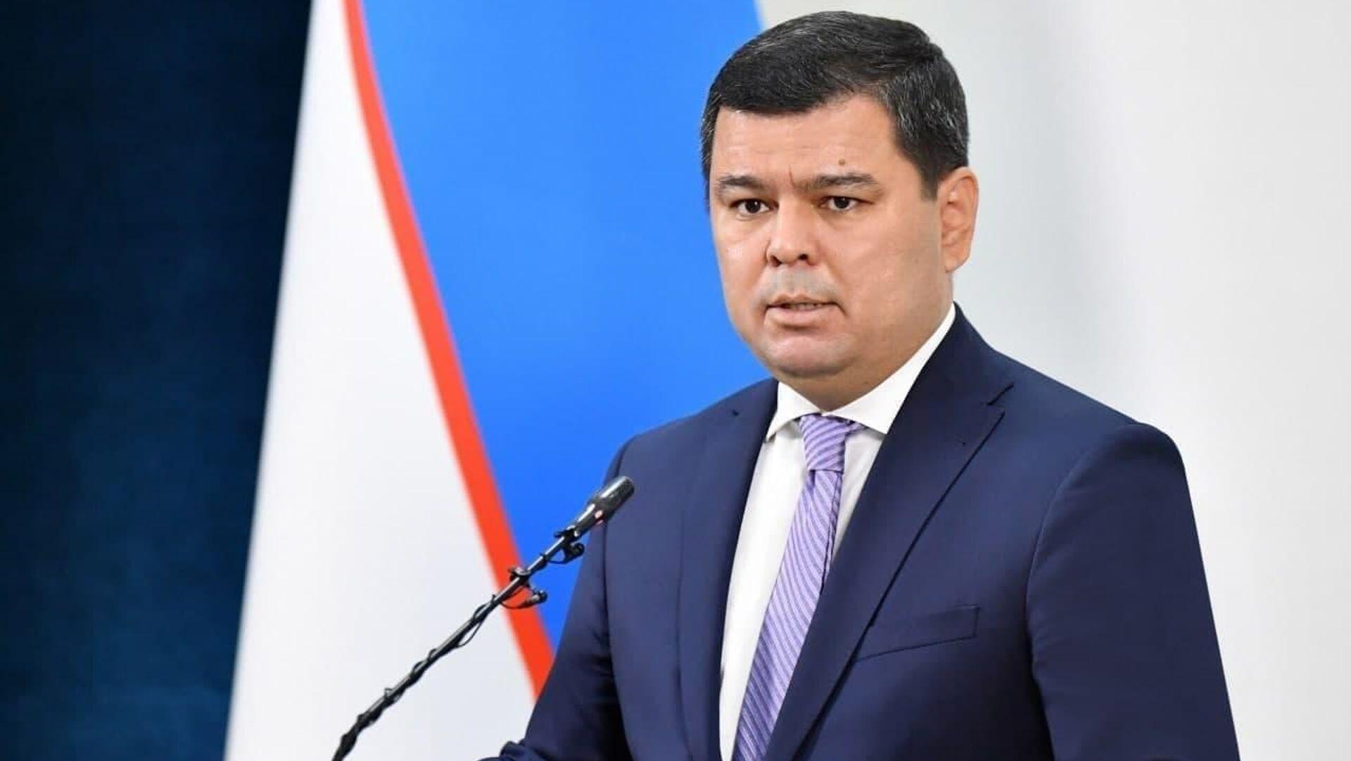 Пресс-секретарь президента Узбекистана, замглавы его администрации Шерзод Асадов - Sputnik Узбекистан, 1920, 21.06.2021