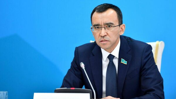 Спикер сената Казахстана Маулен Ашимбаев - Sputnik Узбекистан