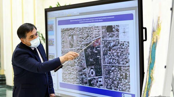 Шавкат Мирзиёев ознакомился с планом реконструкции мазволея Алишер Навоий в Афганистане - Sputnik Ўзбекистон