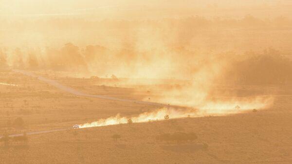 Пыльная буря - Sputnik Узбекистан