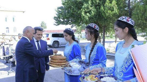 Встреча делегации Министерства образования и науки Таджикистана в Самарканде - Sputnik Узбекистан