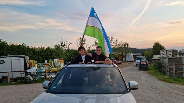Узбекистанские наездники выиграли две медали на чемпионате по конному спорту в Германии - Sputnik Узбекистан