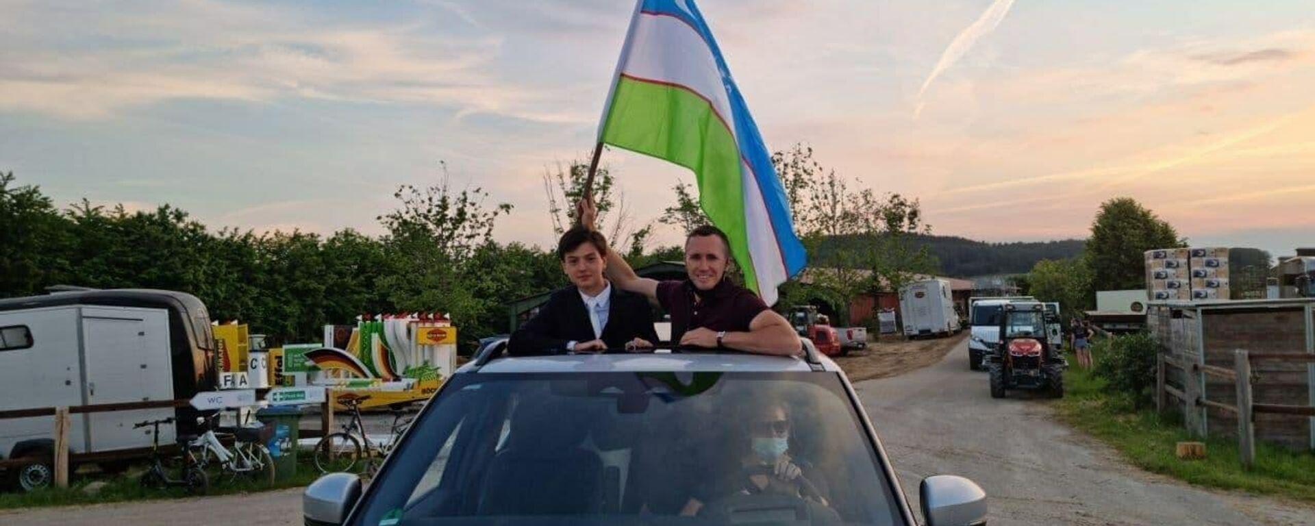Узбекистанские наездники выиграли две медали на чемпионате по конному спорту в Германии - Sputnik Узбекистан, 1920, 11.06.2021