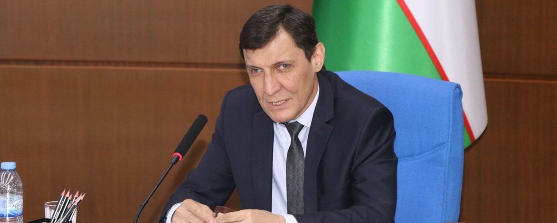Директор Центра народной дипломатии ШОС в Узбекистане Кабулжон Сабиров - Sputnik Узбекистан, 1920, 15.06.2021