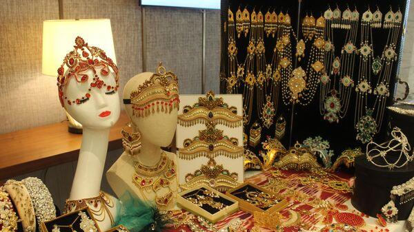 Выставка продукции женщин-предпринимателей в рамках Международного женского форума в Ташкенте - Sputnik Узбекистан