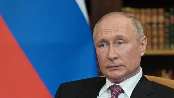 Vstrecha prezidentov Rossii i SSHA V. Putina i Dj. Baydena v Jeneve - Sputnik Oʻzbekiston
