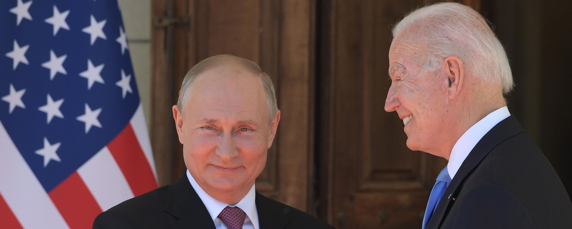 Встреча президентов России и США В. Путина и Дж. Байдена в Женеве - Sputnik Узбекистан, 1920, 28.09.2021