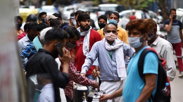 Ситуация в Индии в связи с коронавирусом - Sputnik Узбекистан