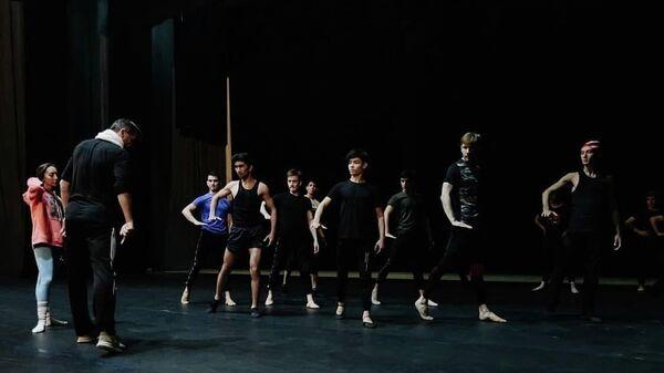 Балетная постановка Лазги в ГАБТе им. Навои - Sputnik Узбекистан