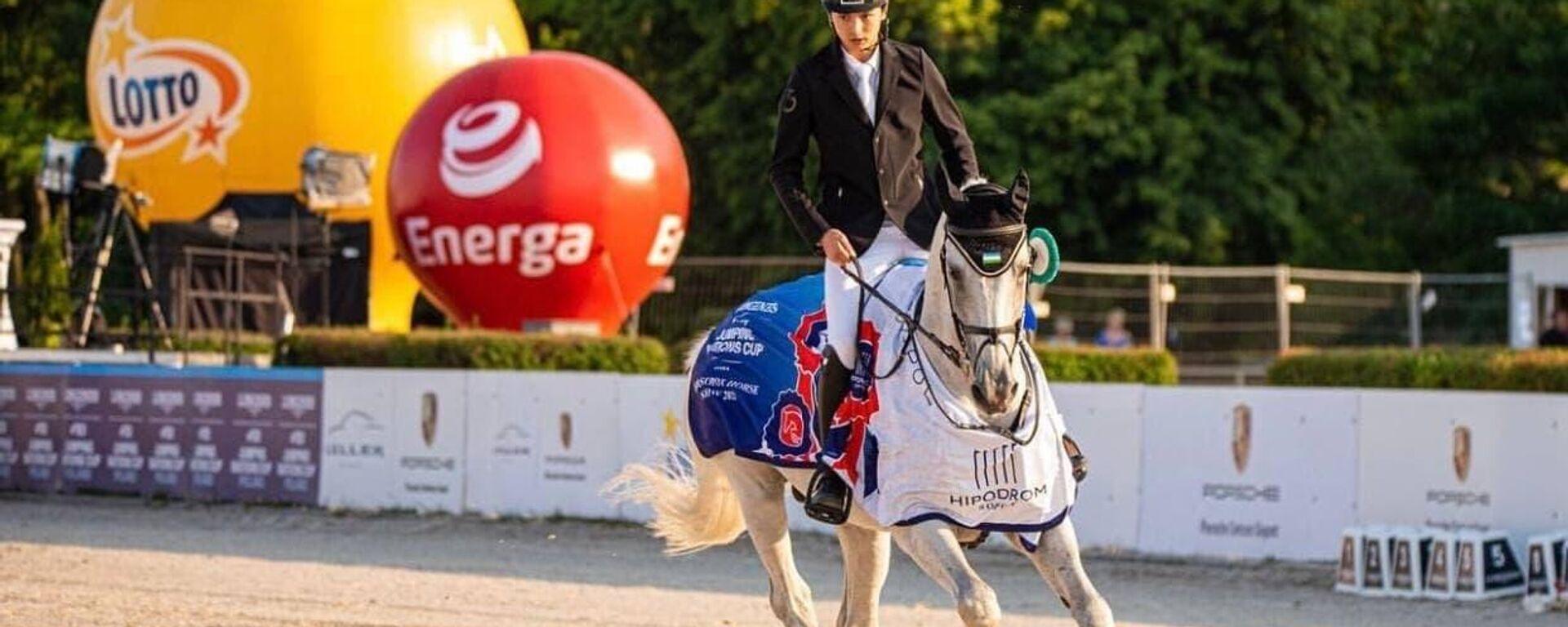 Узбекистанец завоевал три медали на Кубке наций по конному спорту - Sputnik Узбекистан, 1920, 21.06.2021