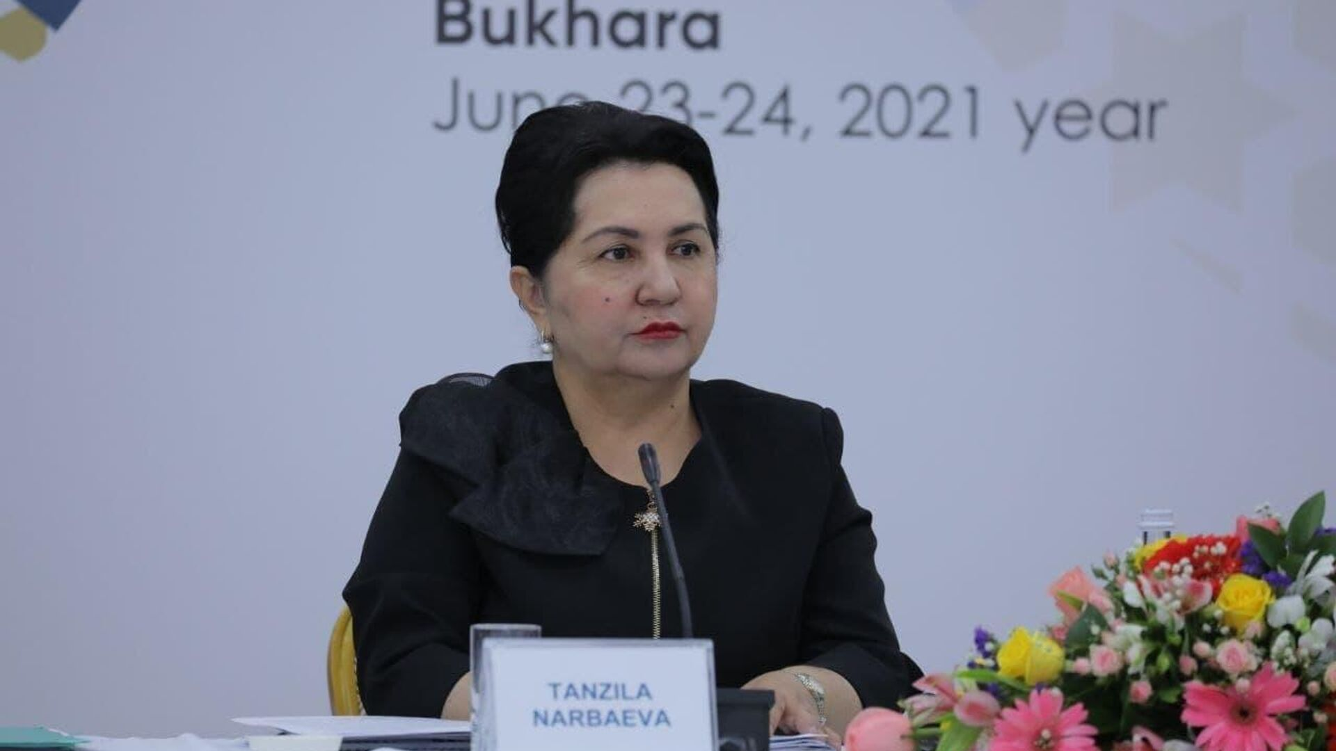 Председатель Сената Олий Мажлиса Танзила Нарбаева - Sputnik Узбекистан, 1920, 24.06.2021