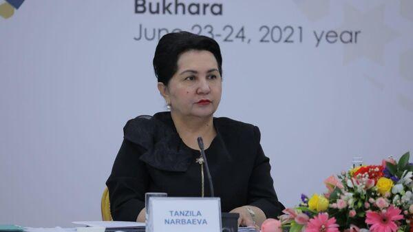 Председатель Сената Олий Мажлиса Танзила Нарбаева - Sputnik Узбекистан