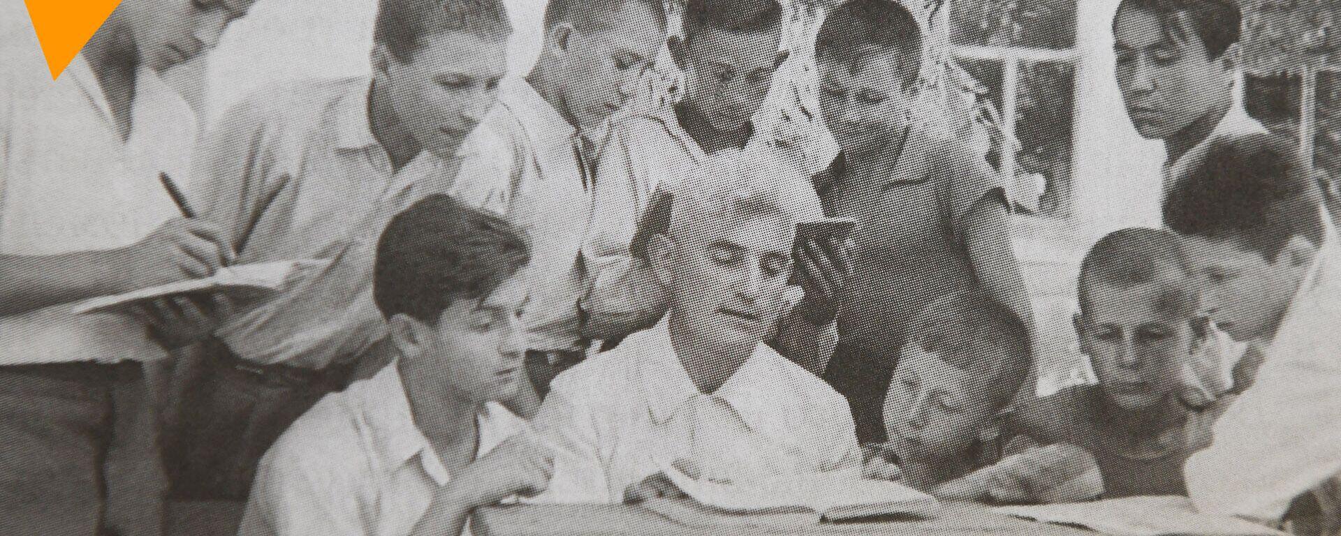 Интервью Паины Сиднеевны Джаксон об отце и его учениках - Sputnik Узбекистан, 1920, 23.06.2021