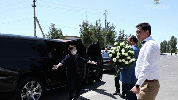 Озодбек Назарбеков встретил министра культуры и спорта Казахстана Актоти Раимкуловой - Sputnik Узбекистан