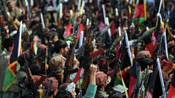 Афганские ополченцы в Кабуле, 23 июня 2021 года - Sputnik Узбекистан