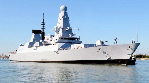 Британский эсминец Defender - Sputnik Узбекистан