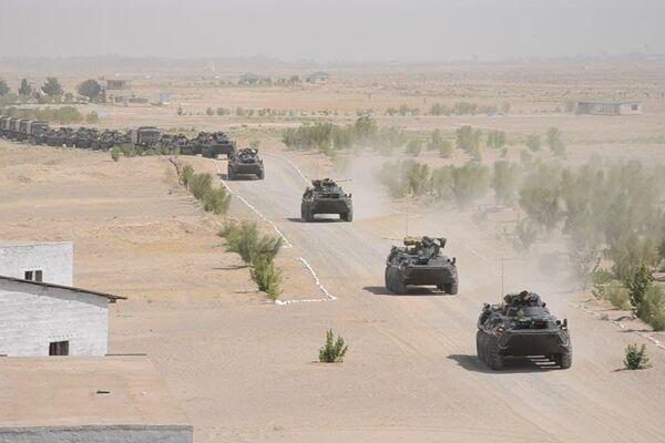 Танковые войска вооруженных сил Узбекистана. - Sputnik Узбекистан