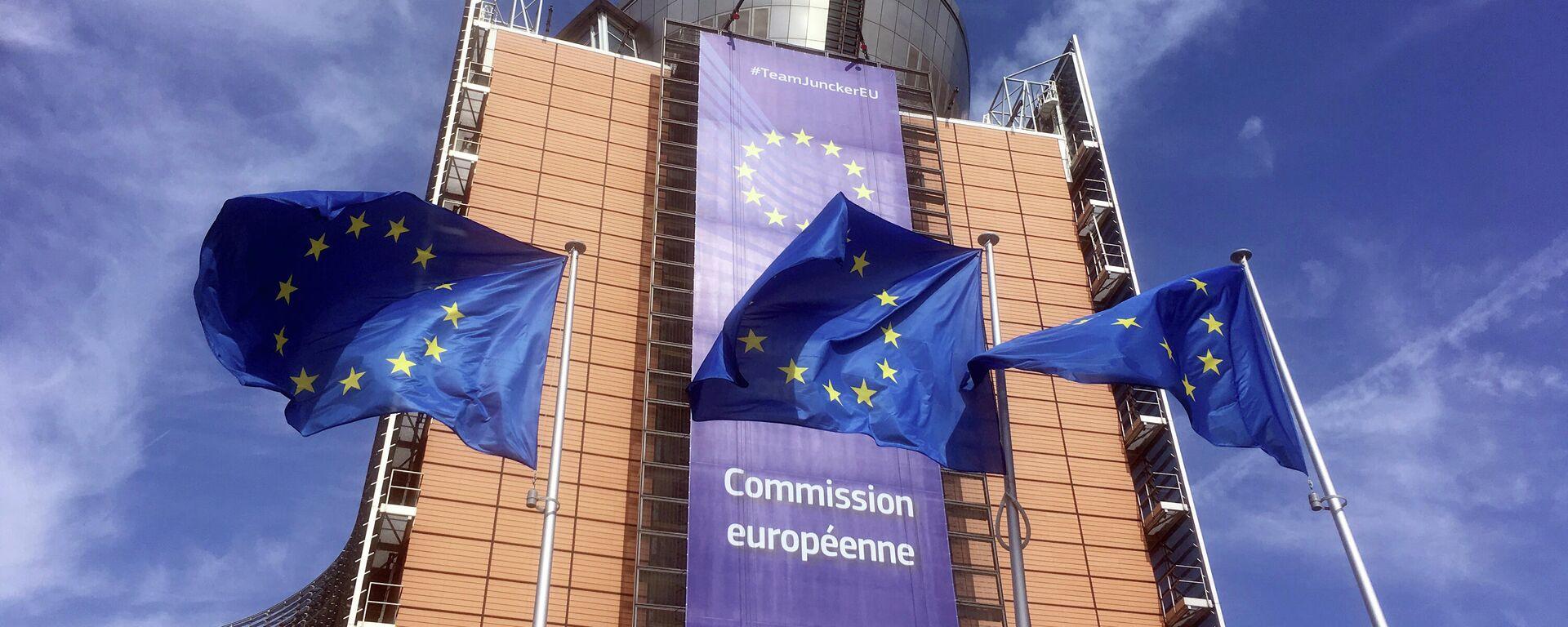Штаб-квартира Евросоюза в Брюсселе - Sputnik Узбекистан, 1920, 25.06.2021