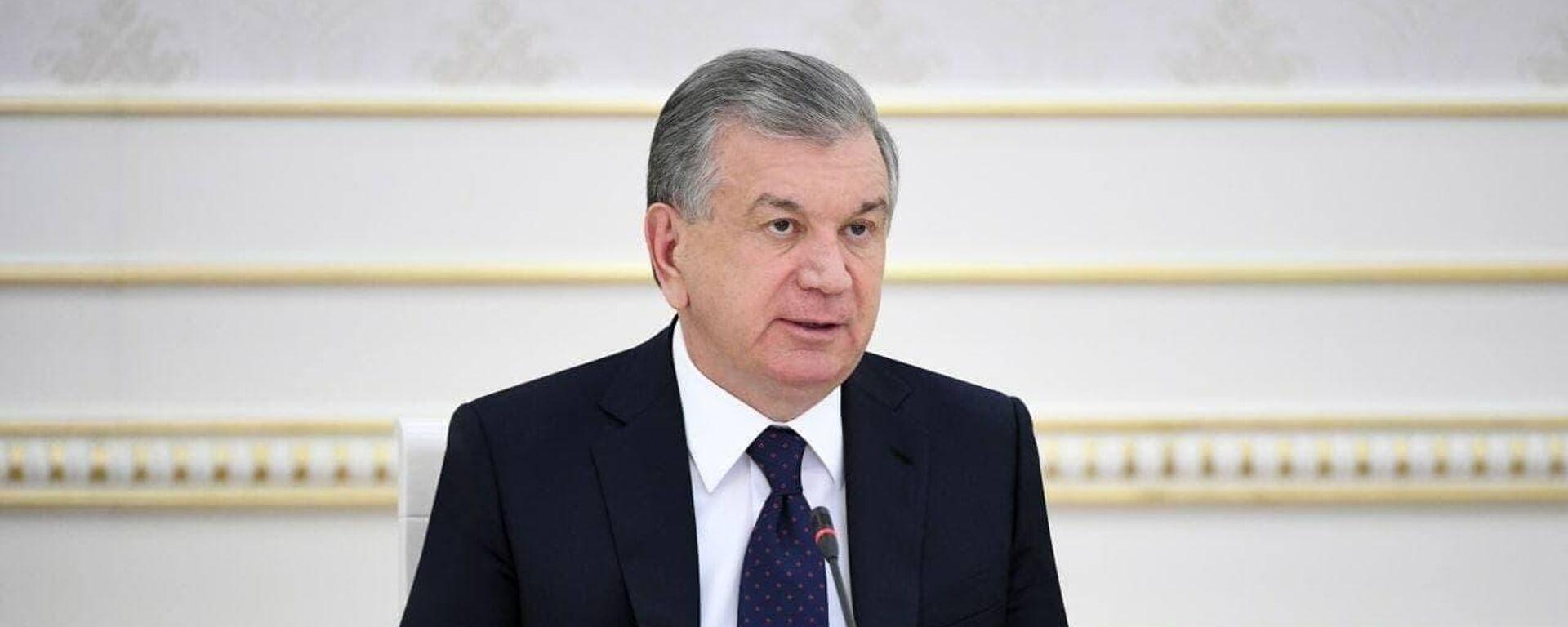 Президент Узбекистана Шавкат Мирзиёев - Sputnik Узбекистан, 1920, 25.06.2021