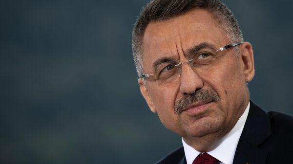 Vitse-prezident Turtsii Fuat Oktay - Sputnik Oʻzbekiston