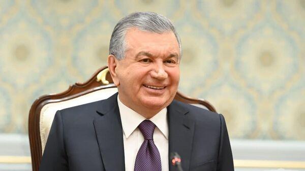 Shavkat Mirziyoyev 28 iyunya prinyal vitse-prezidenta Turetskoy Respubliki Fuata Oktaya - Sputnik Oʻzbekiston