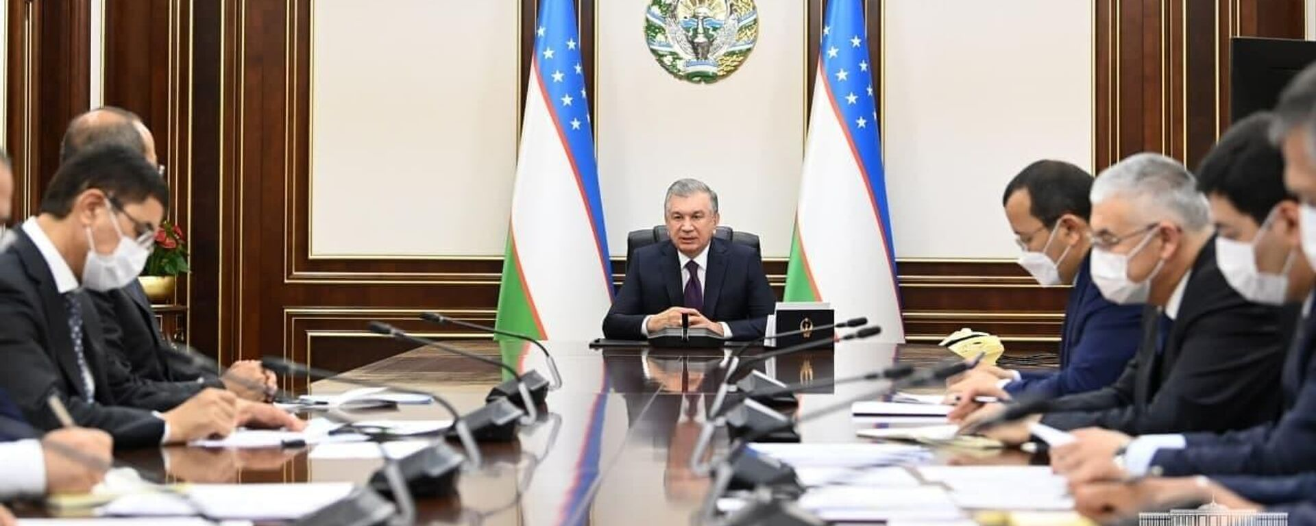 Совещание у президента - Sputnik Узбекистан, 1920, 29.06.2021